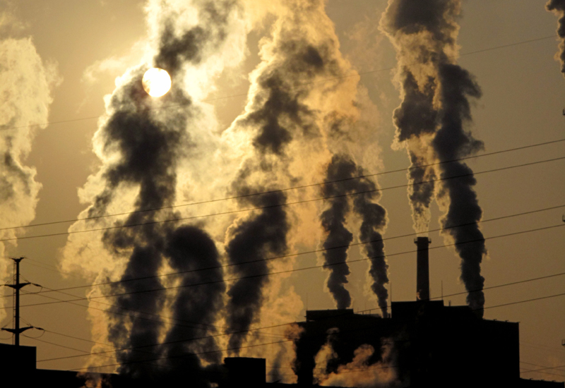 Drinking water from factory chimneys?