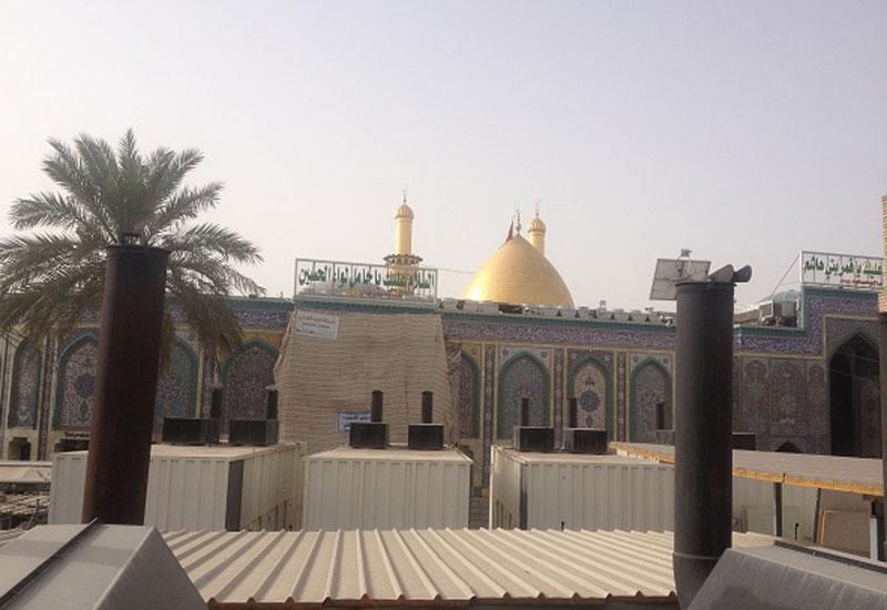Cummins gensets power religious site in Iraq