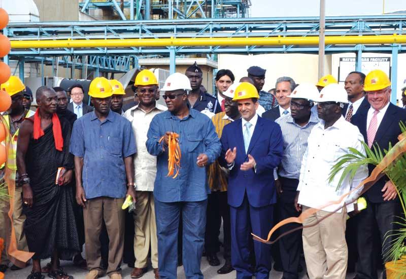 Groundbreaking at TAQA's Ghana power project