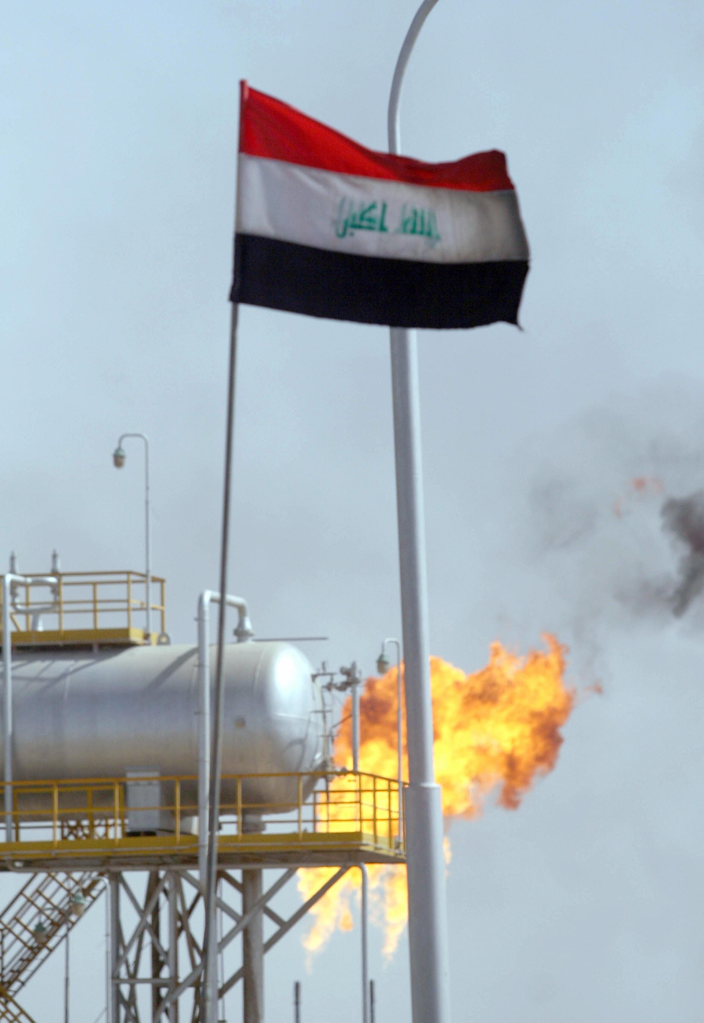 Iraqi power plants short of natural gas supplies