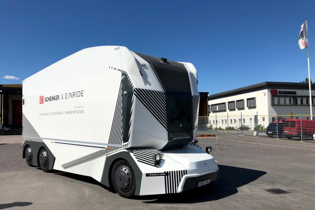 A driverless electric truck is shaping the future of mobility