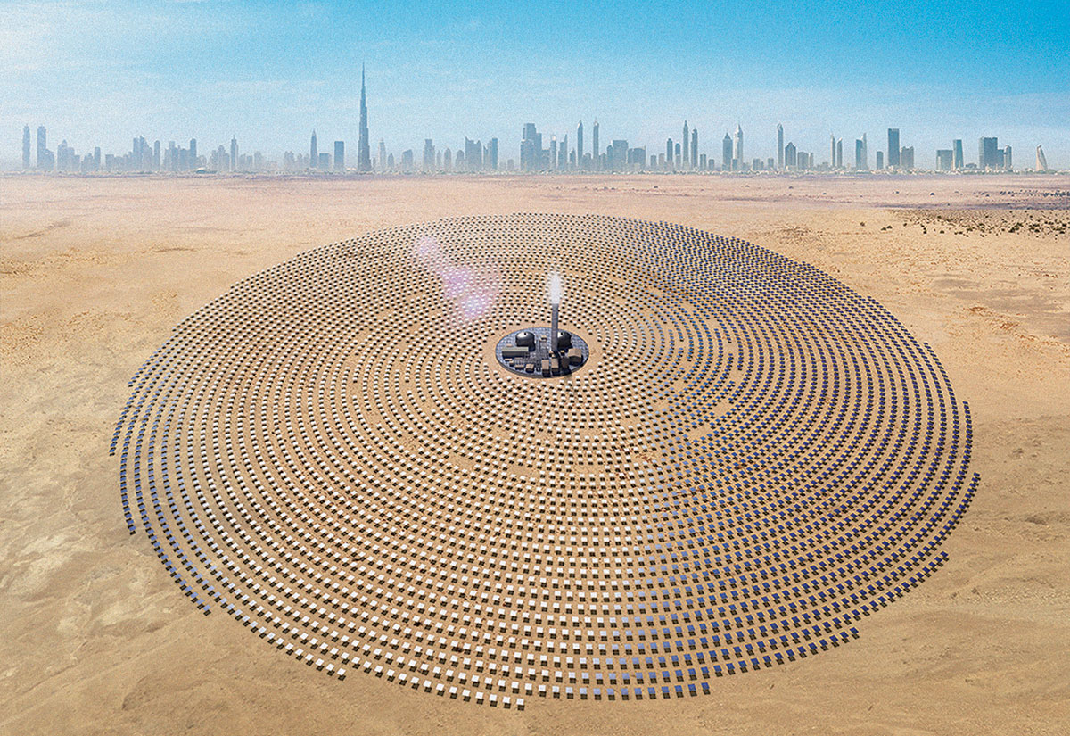German learns from best practices at Dubai's mega solar park