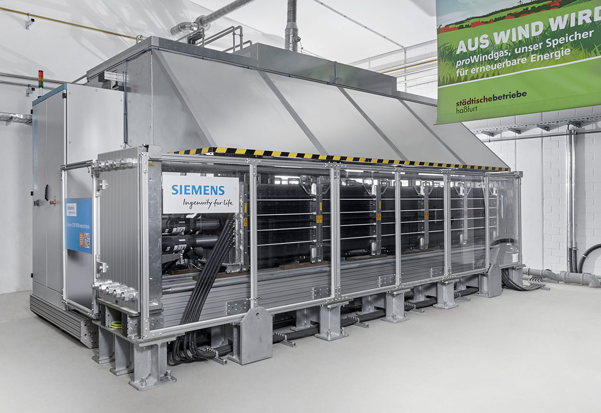 Hydrogen based energy technology holds promise as German shifts from nuclear