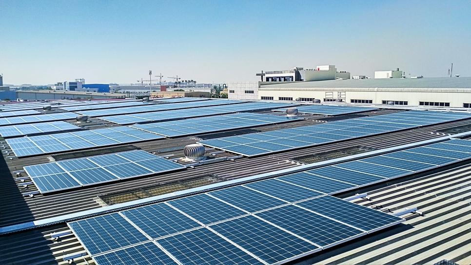 Cleanmax Solar fits 1,200kWp solar plant at Danube hub in Dubai