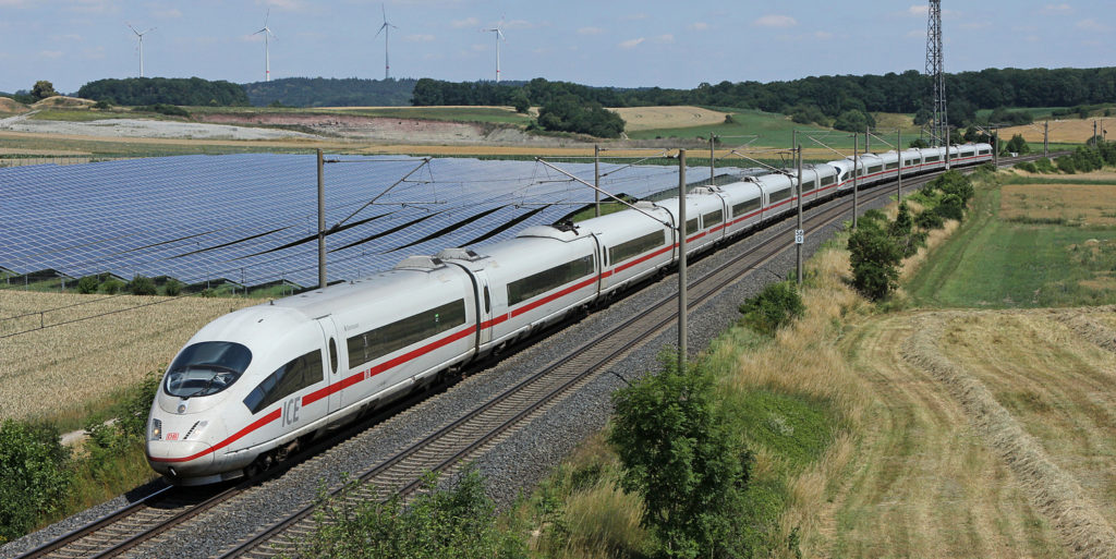 Solar powered rail network set to become reality in Germany