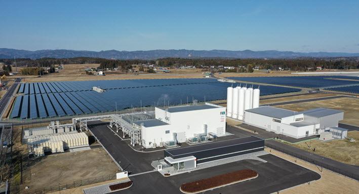 Japan completes world's largest-class hydrogen production plant