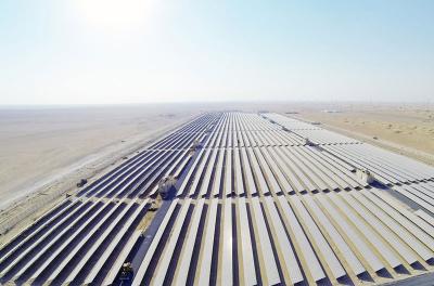 In Pictures: Mohammed Bin Rashid Solar Park