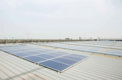 ABB opens 315 kW rooftop solar plant in Dubai