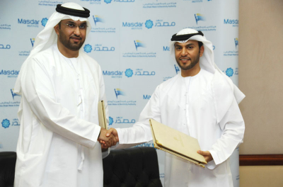 ADWEA and Masdar sign collaboration agreement