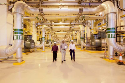 PHOTOS: Bahrain Bay district cooling plant