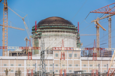 Unit 1 of UAE's nuclear plant nears completion