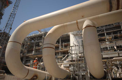 Dolphin gas pipeline completed
