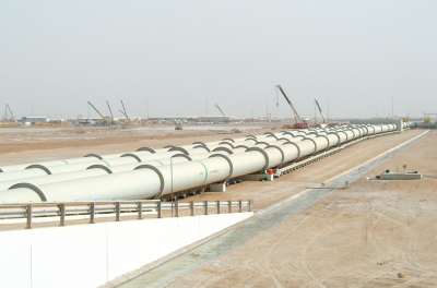 Dolphin sets target for Qatar-UAE gas pipeline