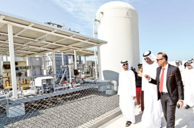 UAE's first eco-friendly desalination plant opens
