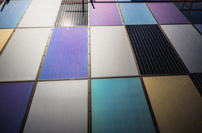 Emirates Insolaire showcases PV panel glass