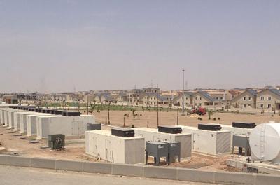 Cummins gensets to power Iraq villa development