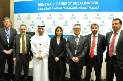 Masdar develops solar-powered desalination plants