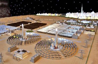 Five firms bid for Phase III of Dubai solar park