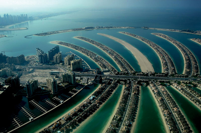 DEWA completes 93% of Palm water project