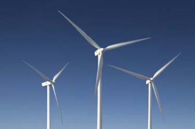 Masdar wind farm supplies electricity to homes