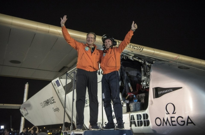 Solar Impulse 2 completes round-the-world trip