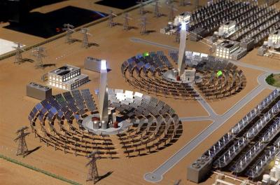 Construction work at Dubai's mega solar park ahead of schedule