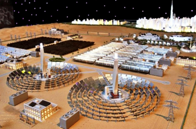 Noor Midelt winner optimizes Concentrated Solar Power trough, storage to hit record price