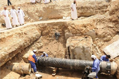 Muscat main water pipeline to be ready this year