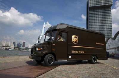 UPS London switches on smart grid to charge EV fleet
