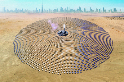 Phase 4 of Dubai's MBR Solar Park 700MW registers progress