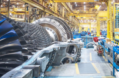 First Saudi-made gas turbine goes into operation at new power plant