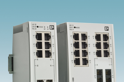 Phoenix contact introduces new Managed Switches for growing networks