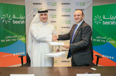 Duracell, Bee'ah partner to drive battery recycling in UAE