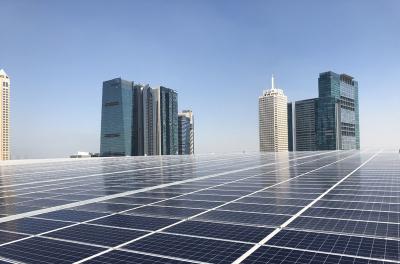 Enviromena installs rooftop solar at Dubai World Trade Centre