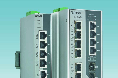 Robust Power over Ethernet switches from Phoenix Contact