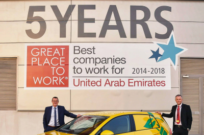 DHL Express drives energy efficient solutions with new electric vehicles in Dubai