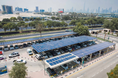 UAE's DEWA commissions 2MWp Solar Carport Project
