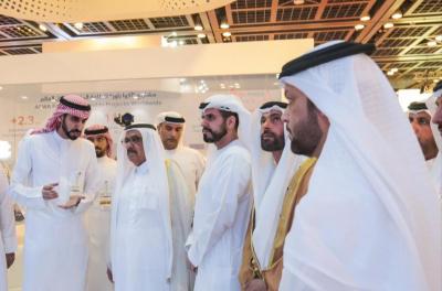 HH Sheikh Hamdan visits ACWA Power at WETEX 2018