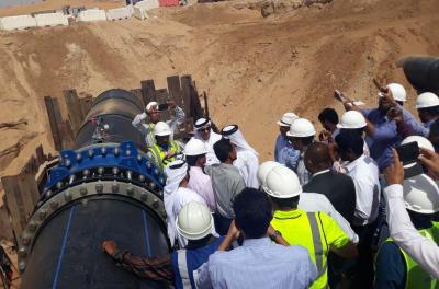 UTICO commissions largest trans-emirate pipeline in the UAE