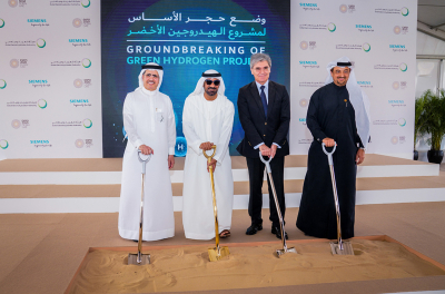 MENA's first solar-powered Green Hydrogen project launched in Dubai