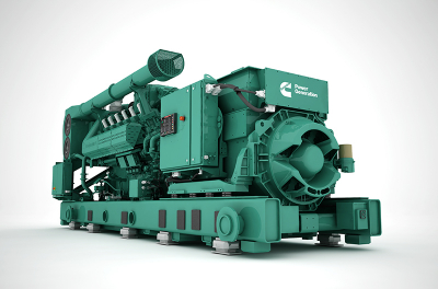 Cummins Introduces New Technology in a New Natural Gas Series of Generators