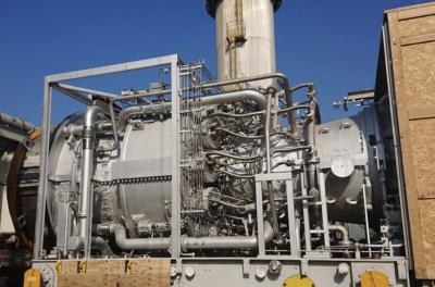 GE provides a 9E gas turbine for Iraq's Al Qudus Power Plant