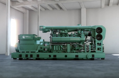 Introducing the HSK78G natural gas generator series from Cummins