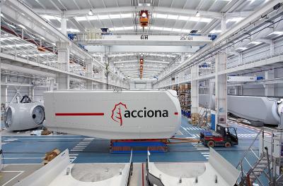 Spain's Acciona posts Q1 profit growth