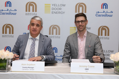 UAE's Yellow Door Energy, Majid Al Futtaim partner to Supply Solar Power to Carrefour Stores in Jordan