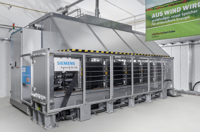 Siemens to build large CO2-free hydrogen production plant in southern Germany
