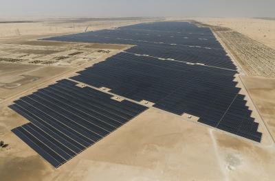 Noor Abu Dhabi solar plant achieves 2,000GWh net power production