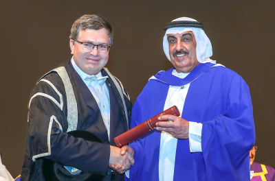 ENOC Group CEO receives honorary doctorate from Heriot-Watt University
