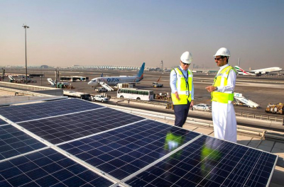 Middle East's largest airport solar energy system installed at Dubai Airport