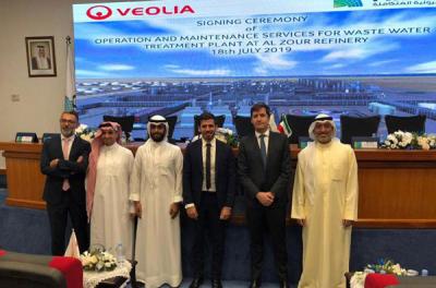 Veolia wins Kuwait wastewater treatment plant work